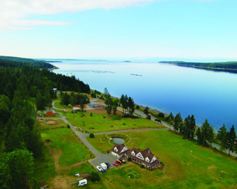 Two Eagles Lodge B&B  - 6409 Old Island Highway Union Bay, just 10 min. south of Courtenay BC on Vancouver Island