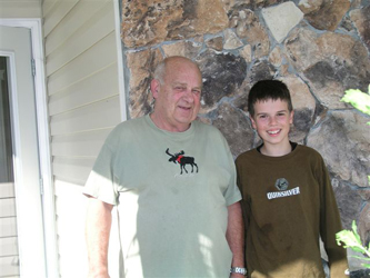 Grandpa Richard & Neale